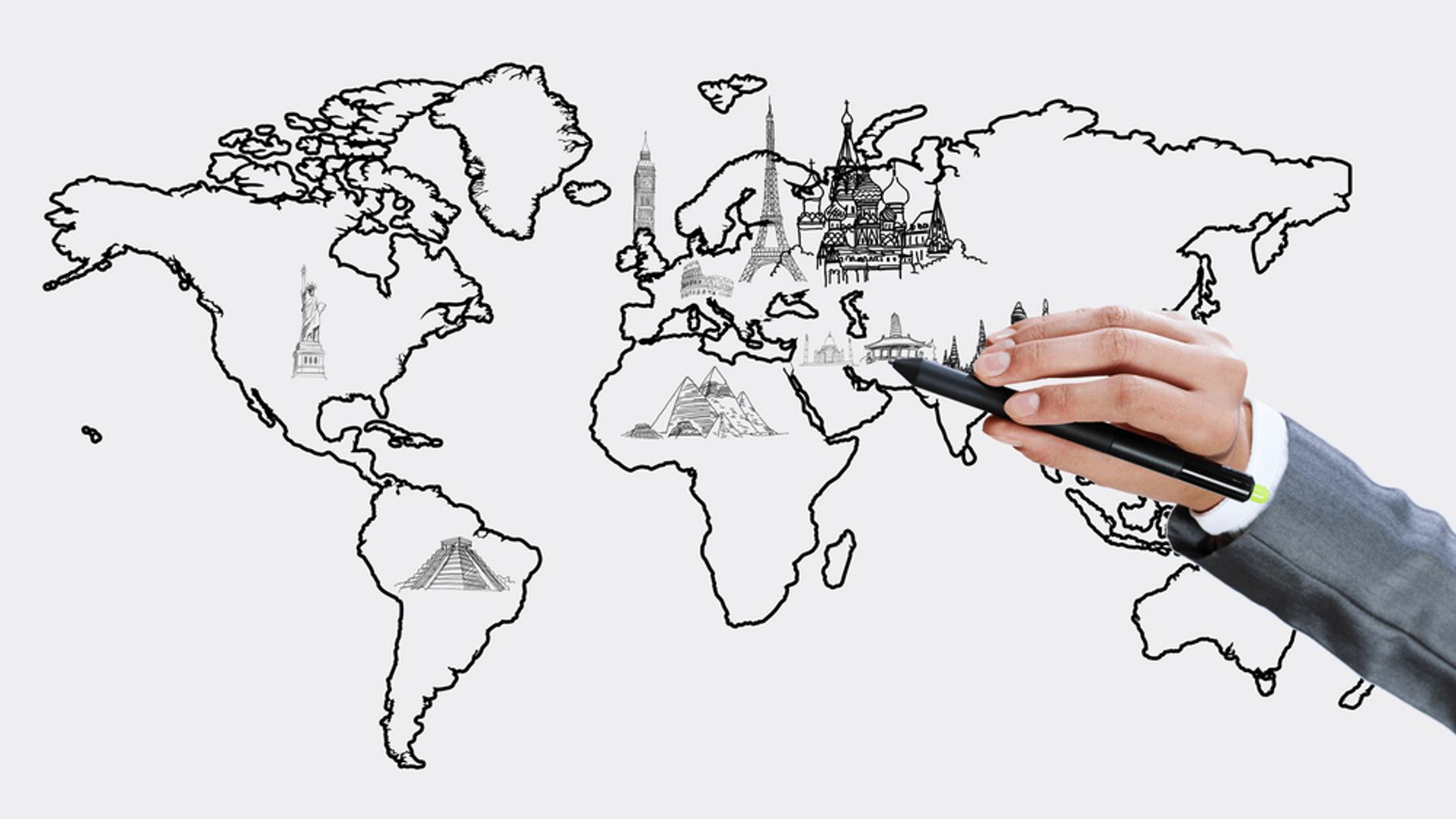 Karbič geodezija zemljevid